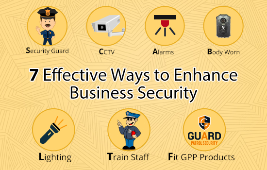 7 effective ways to enhance business security